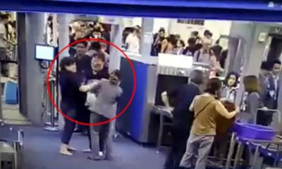 Slapped airport security worker praised for showing restraint | The Thaiger