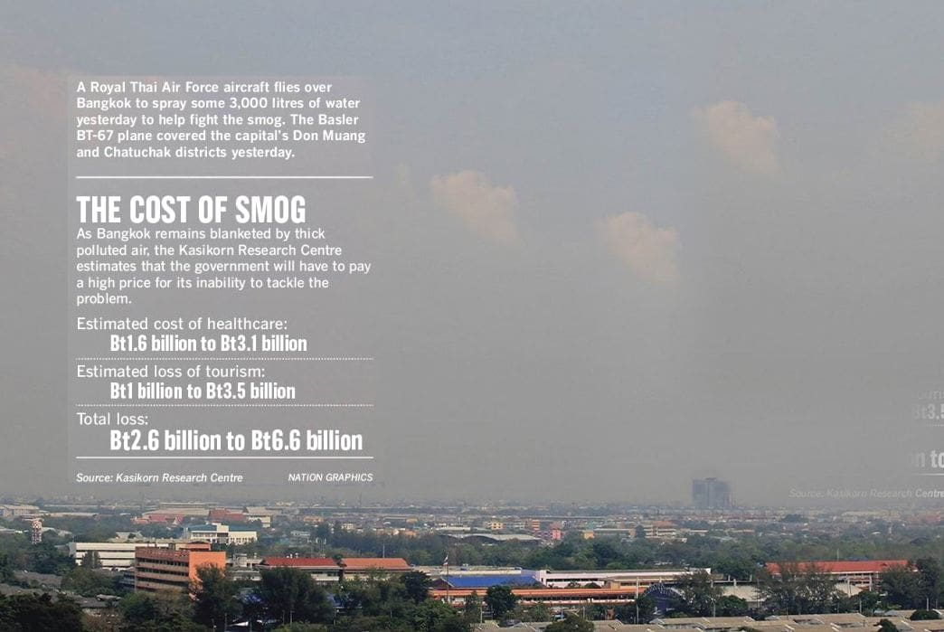 Bangkok smog to hit Thailand in the tourism pocket | The Thaiger
