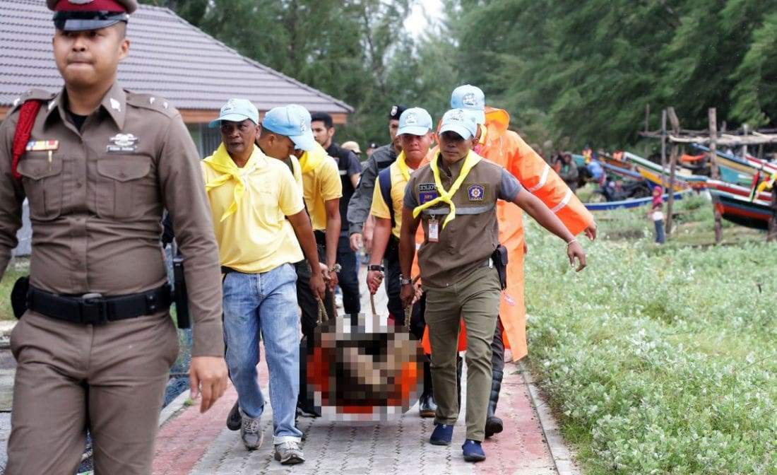 Pabuk: One crew dead, another remains missing – trawler sinks off Pattani | The Thaiger