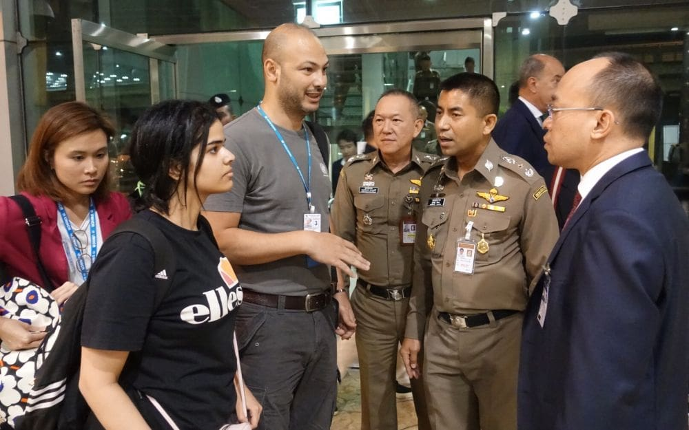 Saudi teenager allowed to stay in Thailand, for now | The Thaiger