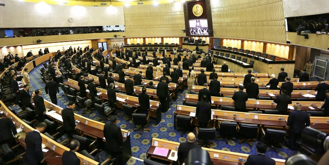 NLA poised to pass 100 laws before the next election | The Thaiger
