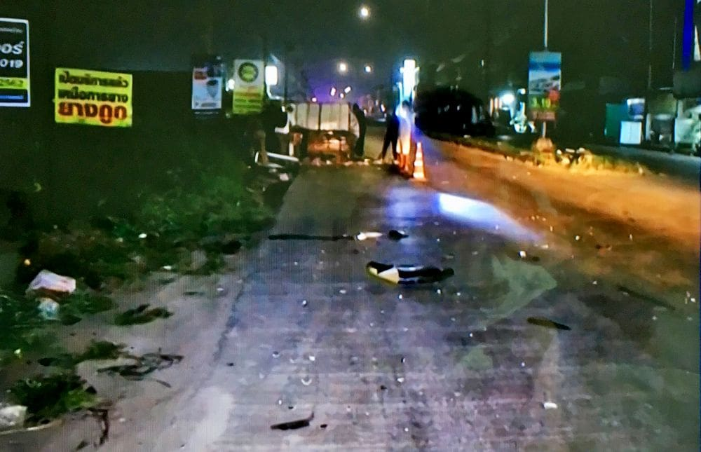 Police looking for Burmese driver after two alleged hit-and-runs in Pathum Thani | The Thaiger