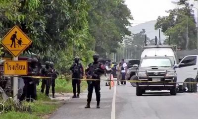 28 year old ranger injured in Pattani bomb attack outside school | The Thaiger