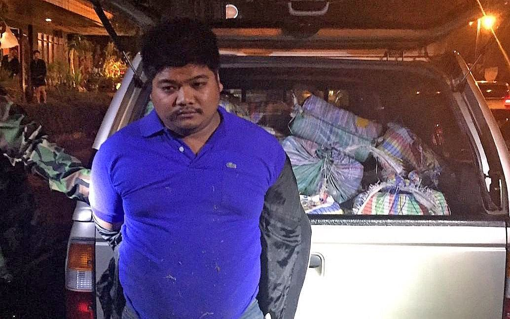 Chiang Rai pick-up driver arrested with 4 million meth pills in the back | The Thaiger
