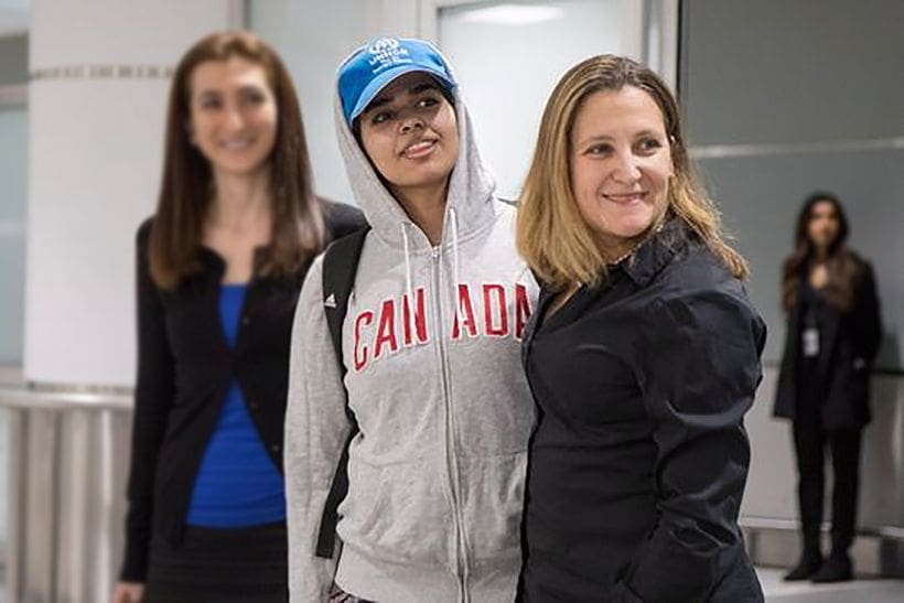 Rahaf al-Qunun arrives in Canada – no mention in Saudi media | The Thaiger