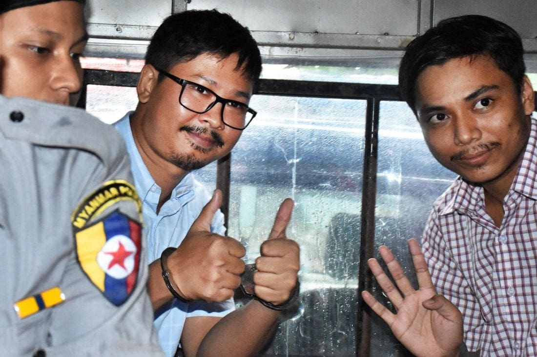 Myanmar Court rejects appeal of imprisoned Reuters journalists | The Thaiger