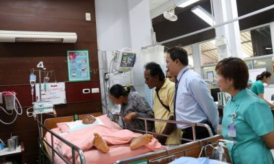 His Majesty pays Phang Nga boy's medical costs  – more operations Saturday | The Thaiger