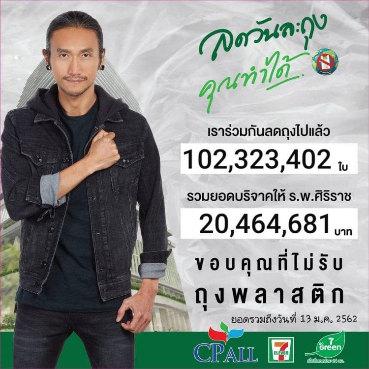 คนไทยรักโลก ลดการใช้ถุงพลาสติกแล้วกว่า 100 ล้านใบ มูลค่ากว่า 20 ล้านบาท | News by The Thaiger