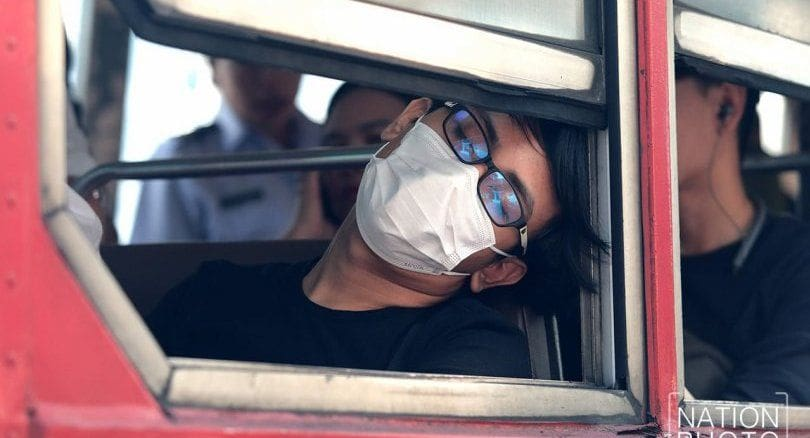 Face mask fashion as Bangkok batters poor air quality and smog | News by The Thaiger