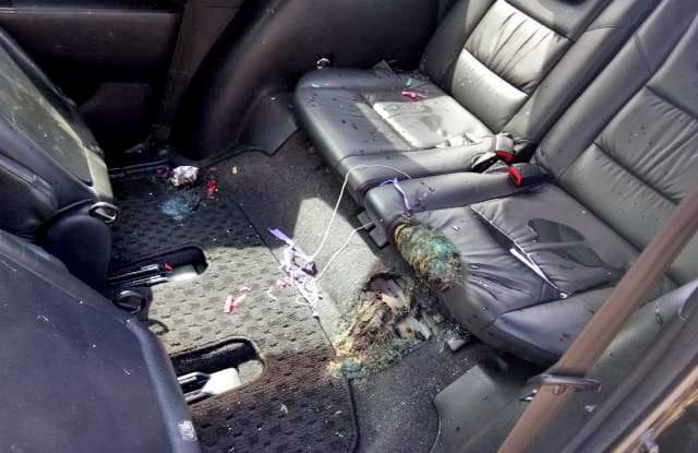 Warnings issued after hydrogen-filled balloon explodes in car | The Thaiger