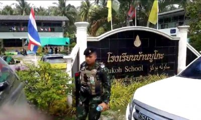 UPDATE: Four defence volunteers killed at school by militants | The Thaiger
