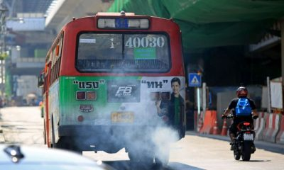 Bangkok smog: Diesel buses and vehicles key problem | The Thaiger