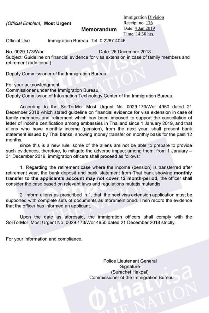 b9d23b725 Immigration officers asked to show leniency to foreigners applying for  retirement & marriage visas | News