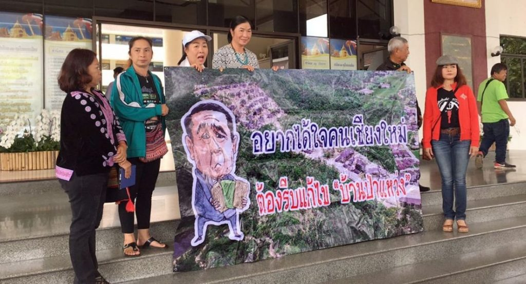 Doi Suthep network boycotts meeting, wants to move forward on rehabilitation of forest | News by The Thaiger