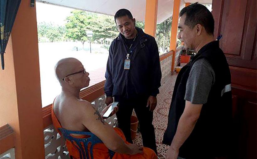 Thai monk caught 11 years later for sex with a minor | The Thaiger