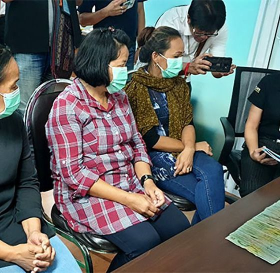 Real police charge three Filipino women working for 'fake' charity in Pattaya | The Thaiger