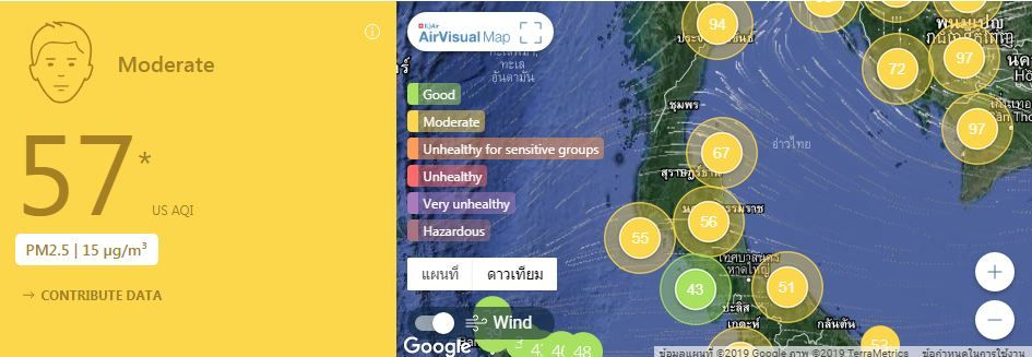 Air quality for Thailand – January 31 | News by The Thaiger
