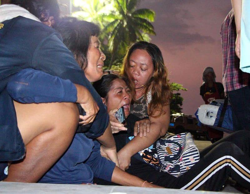 หนุ่มถูกใบพัดเรือฟันหัวจมทะเล เมียท้อง 7 เดือน รุดดูศพ ร้องลั่น | News by The Thaiger