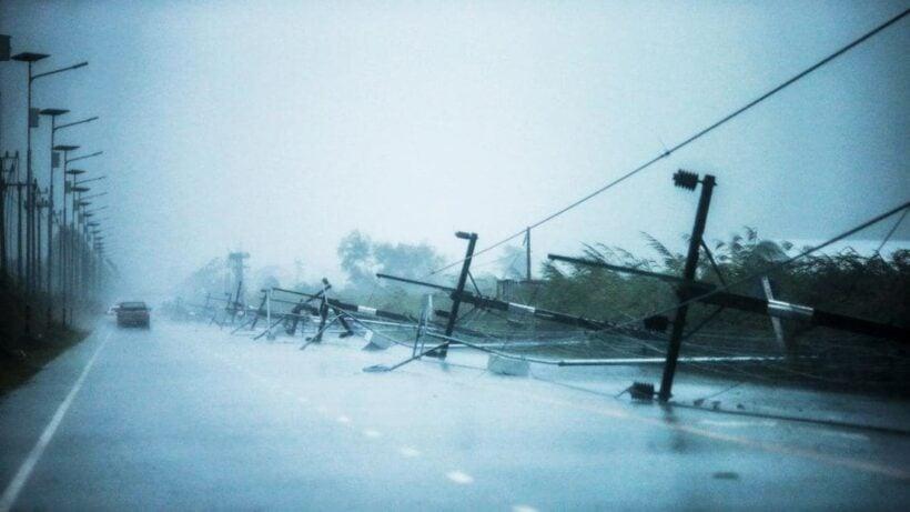 Pabuk makes landfall as it swirls across the Malay Peninsula | The Thaiger