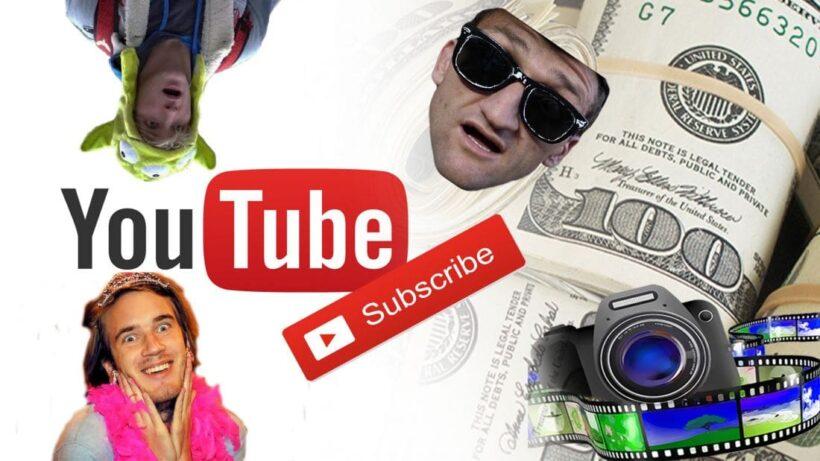 รวม 5 อันดับ ช่อง YouTube ที่มีคนกดติดตามมากที่สุดในโลก   The Thaiger