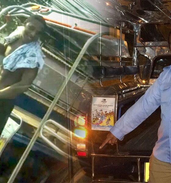 นักท่องเที่ยวพัทยาล้วง 'อานาคอนด้า' โชว์ฉี่ใส่ถนนบนรถสองแถว   The Thaiger