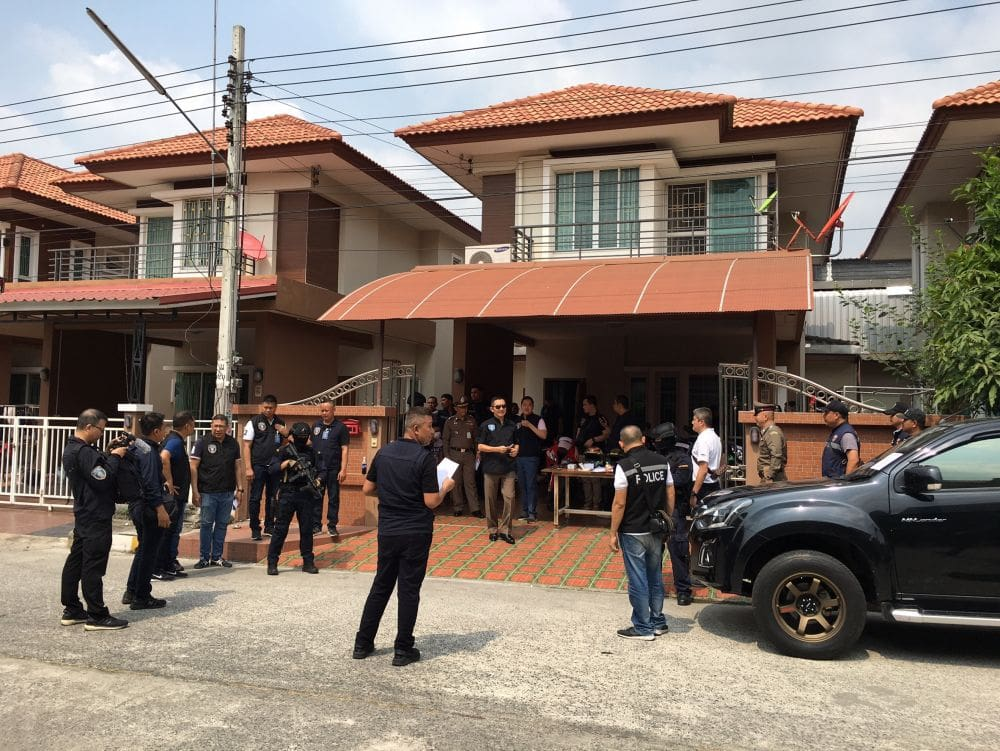 14 arrested in money-lending network raid | News by The Thaiger