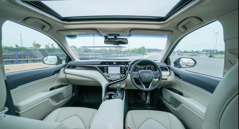 New Camry Hybrid provides luxury in a larger model with electric advantages | News by The Thaiger