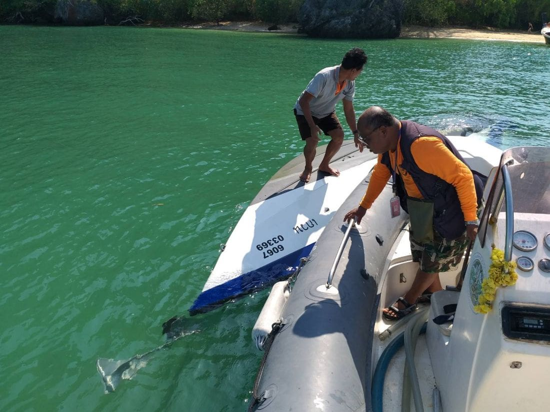 Capsized speedboat found in Krabi | News by Thaiger