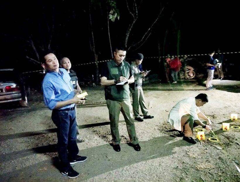 One dead, one injured in Narathiwat garage shooting | The Thaiger