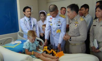 His Majesty sends flowers to five year old attacked by dogs in Krabi | The Thaiger