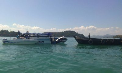 UPDATE: An 'engine malfunction' blamed for boat collision off Phuket | The Thaiger
