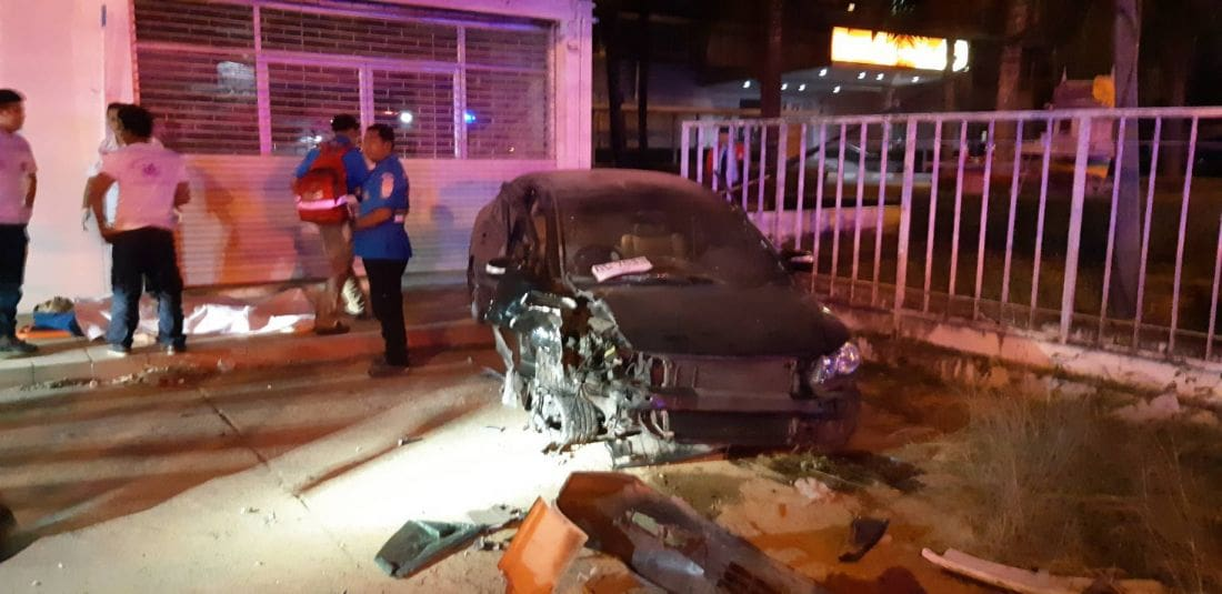 Man dies in Phuket road accident at Samkong underpass entrance | The Thaiger