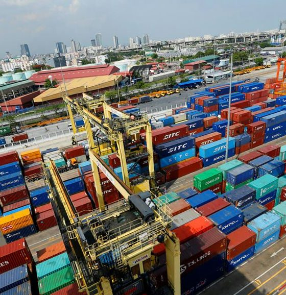 Thai exports fall 5.7 percent in January, year-on-year   The Thaiger
