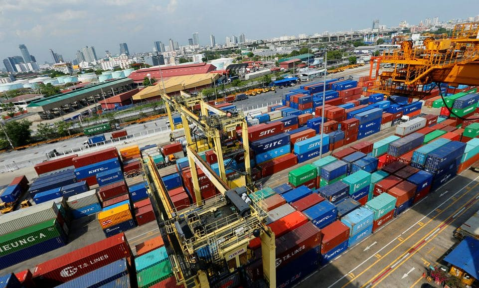Thai exports fall 5.7 percent in January, year-on-year | The Thaiger