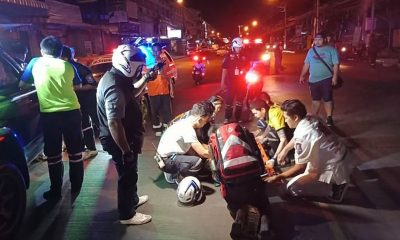 "Two Thai motorcyclists injured as British man makes a ""sudden U-turn"" 
