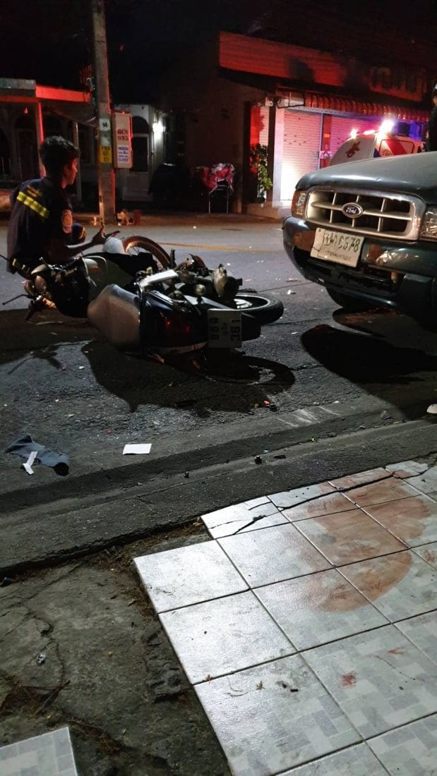 Motorbike driver dies in Phuket collision | News by The Thaiger