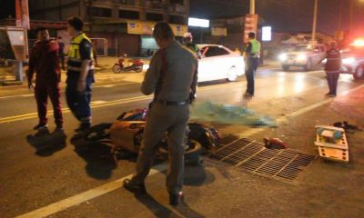 Motorbike driver dies after his head crushed in Udon Thani, truck driver flees | The Thaiger