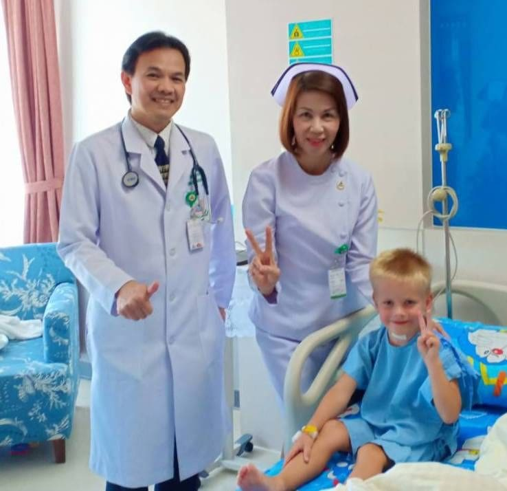 Finnish boy, attacked by dogs, released from Krabi hospital | The Thaiger