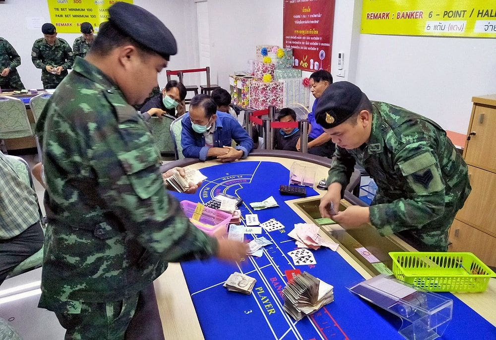 Chiang Mai top cops transferred after gambling den raid | News by Thaiger