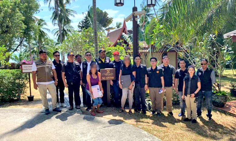 Luxury hotel raided in Koh Samui over alleged money laundering | The Thaiger