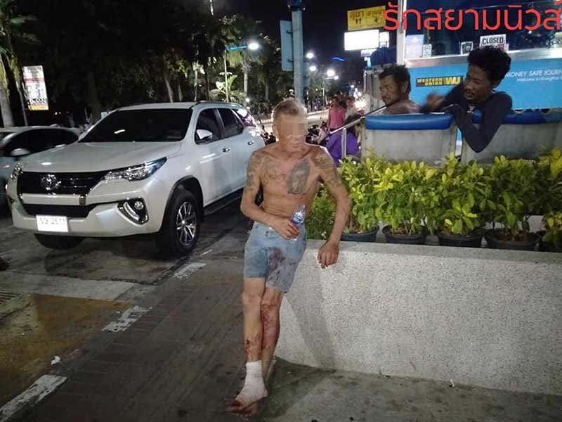 Foreigner arrested for kicking in the door to Pattaya police station | News by The Thaiger