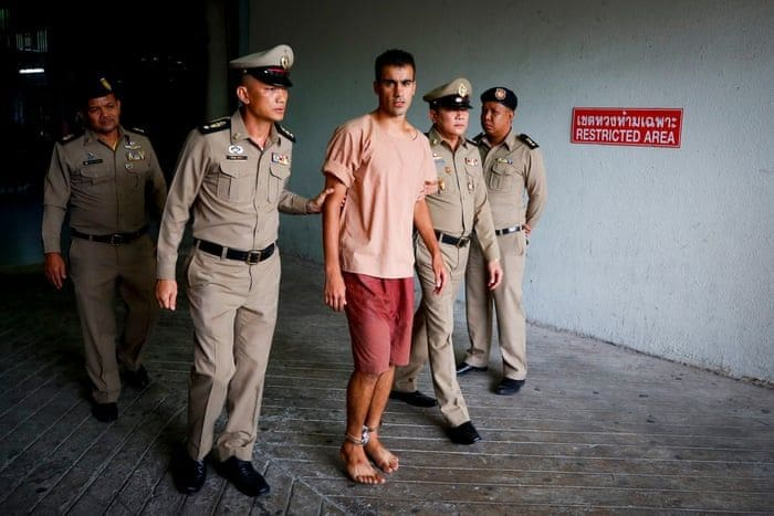 Hakeem Al-Araibi hobbles into court in leg irons – raises questions about his treatment in Thailand | The Thaiger