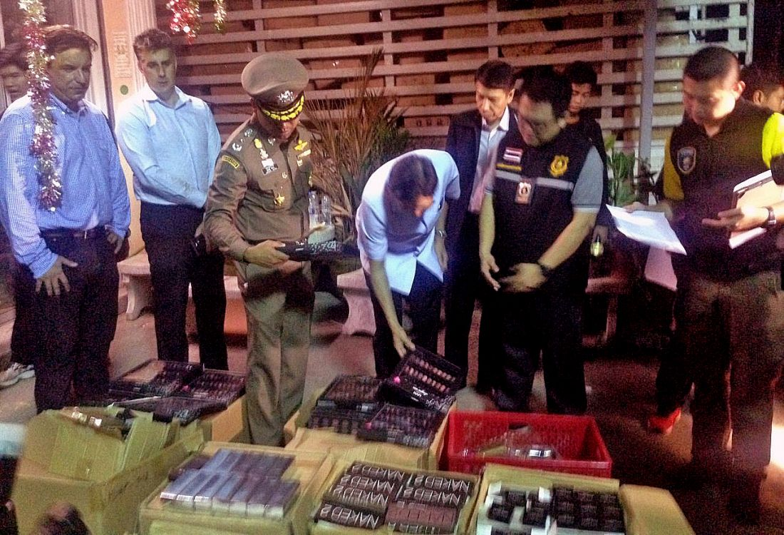 Bangkok bust seizes 180,000 fake cosmetics products | The Thaiger