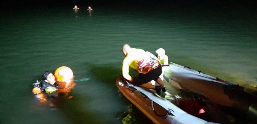 สองหนุ่มเมียนมาร์แข่งว่ายน้ำข้ามคลอง ก่อนจมหาย 1 ราย ทีมประดาน้ำยังหาไม่พบ | The Thaiger