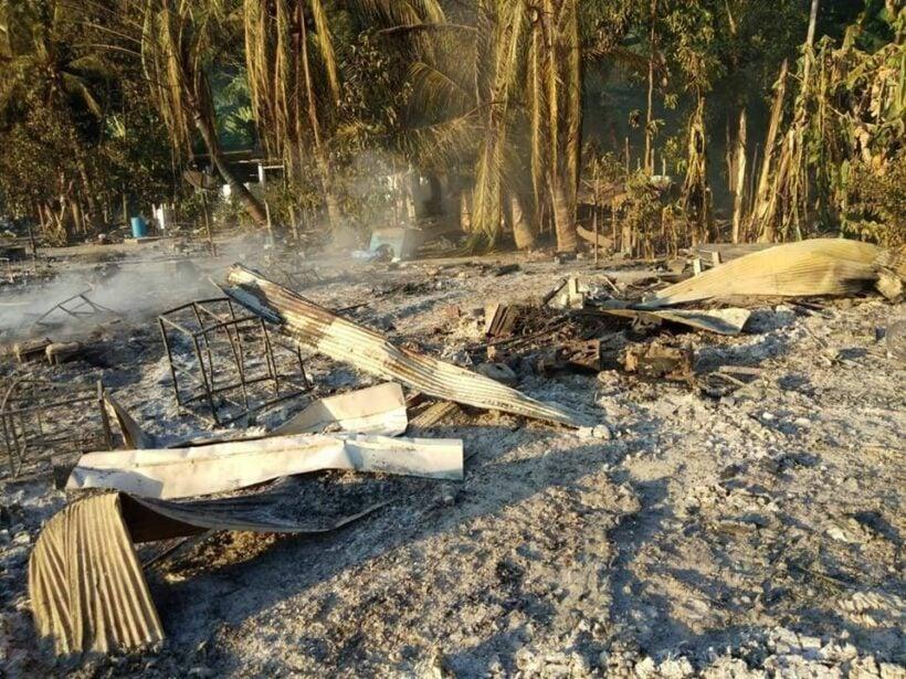 เพลิงไหม้หมู่บ้านชาวเล หมู่เกาะสุรินทร์ จ.พังงา วอด 67 หลัง | News by The Thaiger