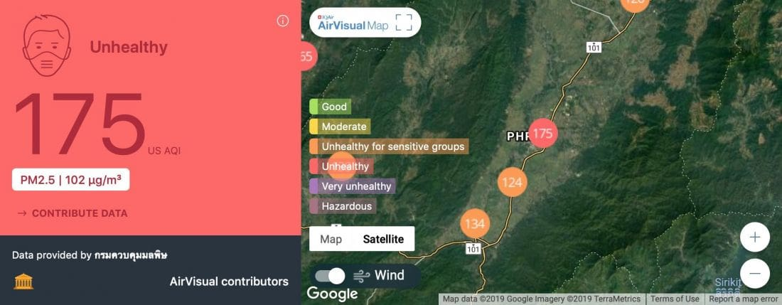 Air pollution rise in northern Thailand attributed to 149 controlled forest fires | News by The Thaiger