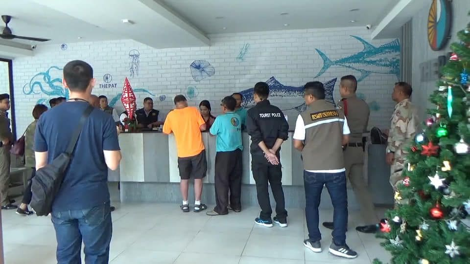 Officials make arrests at three Pattaya hotels operating without licences | News by The Thaiger