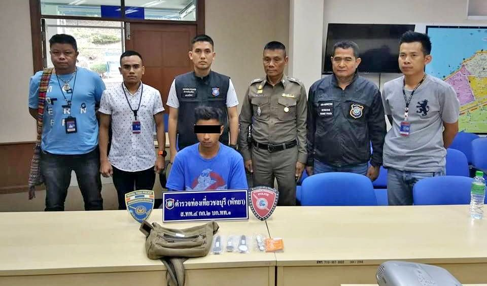 Pattaya vendor arrested for intimidating tourists in Pattaya whilst selling fake luxury watches | News by The Thaiger