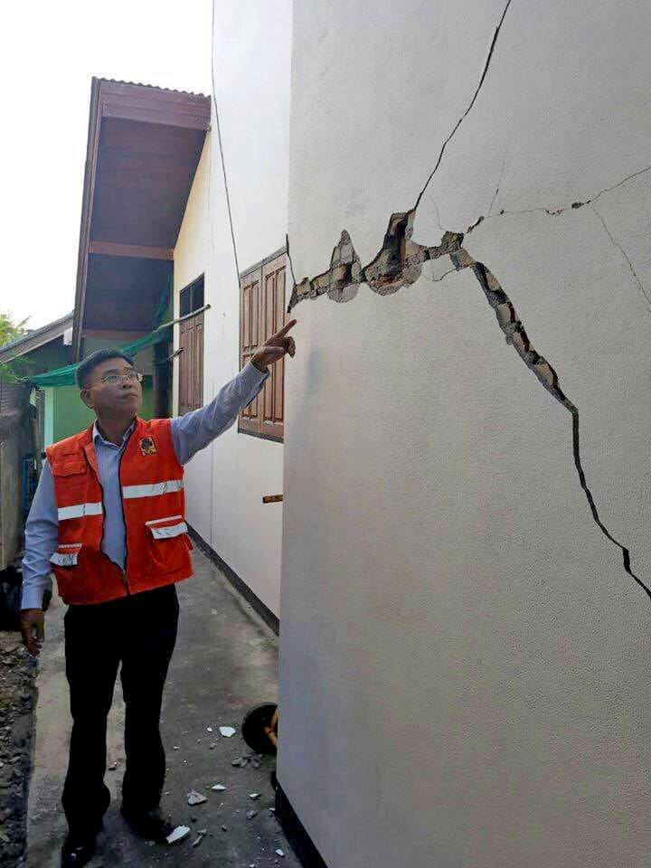 No fatalities or injuries reported in Lampang earthquake | News by The Thaiger