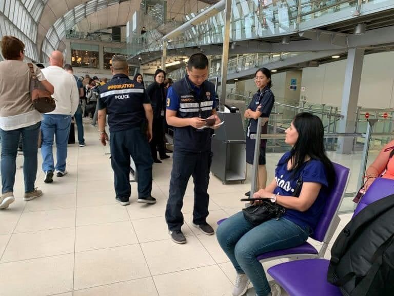 Syrian woman arrested with fake Spanish passport at SuvarnabhumiAirport | The Thaiger